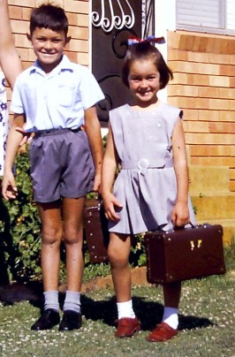 1970 - Melanie First Day of School (2)