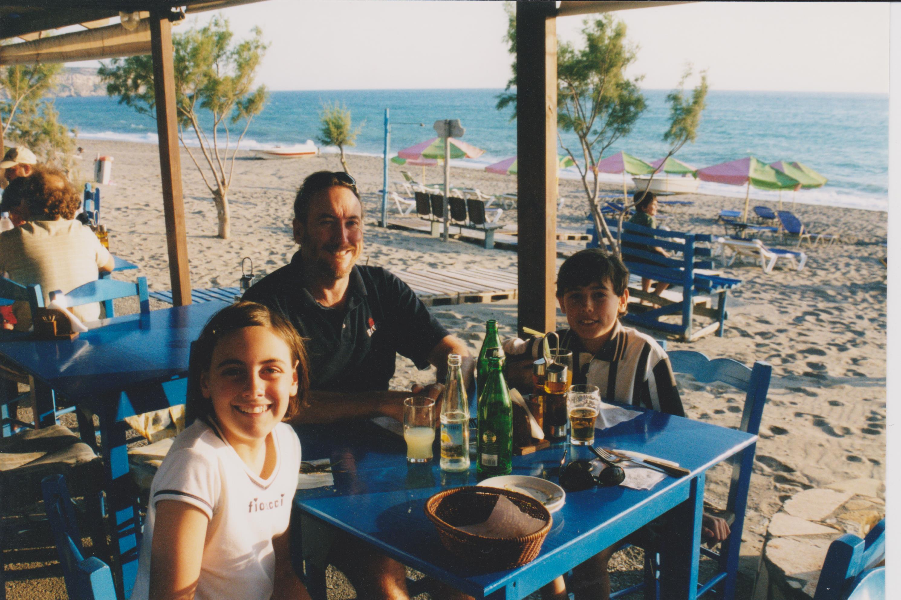Dinner Libyan sea