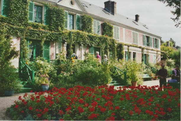 Monets house