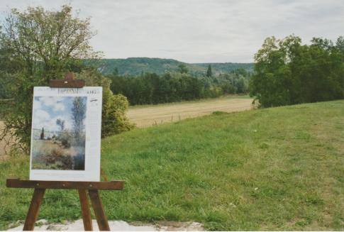 Roadside painting
