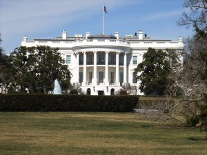 The White House with resident snipers!