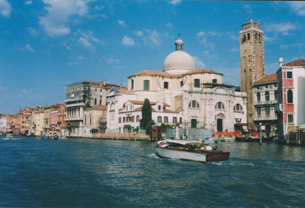 canals in Venice