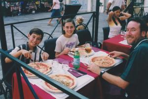 The Marguerita Pizza tour of Italy.