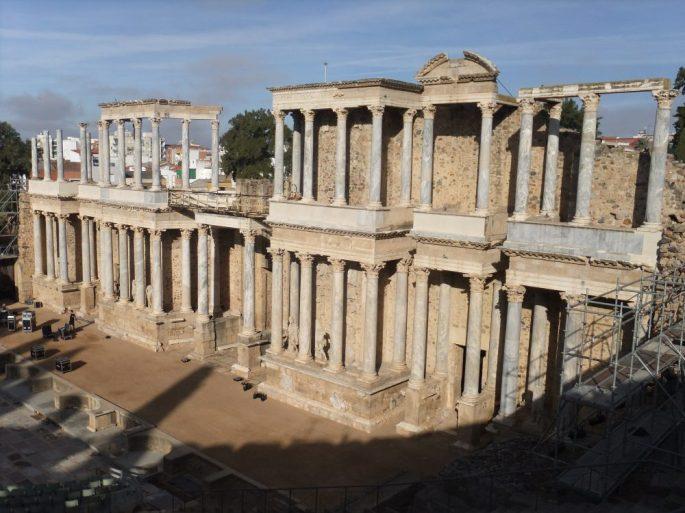 Teatro Romano, Merida Spain