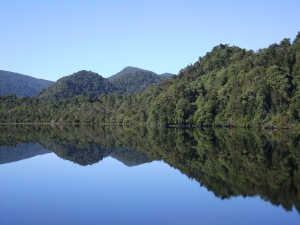 Mirror images on the Gordon River