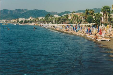 Marmaris Beach, Turkey