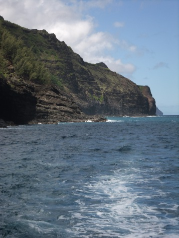 The stunning cliffs along the Napali Coast, Kauai, Hawaiian Islands
