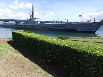 The USS Bowfin submarine, Pearl Harbour