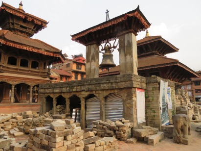Temple restoration projects in Bhaktapur, Nepal