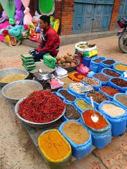 Spices, anyone? Nepal