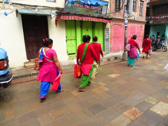 Shopping expedition in Patan, near Kathmandu Nepal
