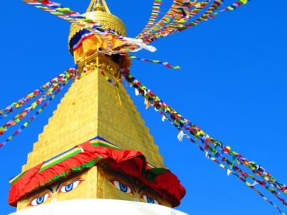 The Buddhist Stupa in Kathmandu