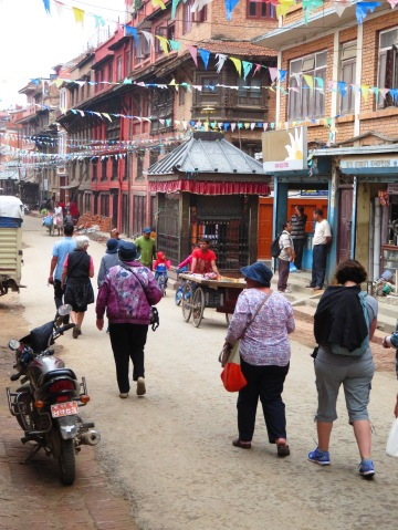 Strolling the streets of Patan, Nepal