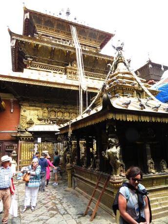The Golden Temple, Patan. Nepal