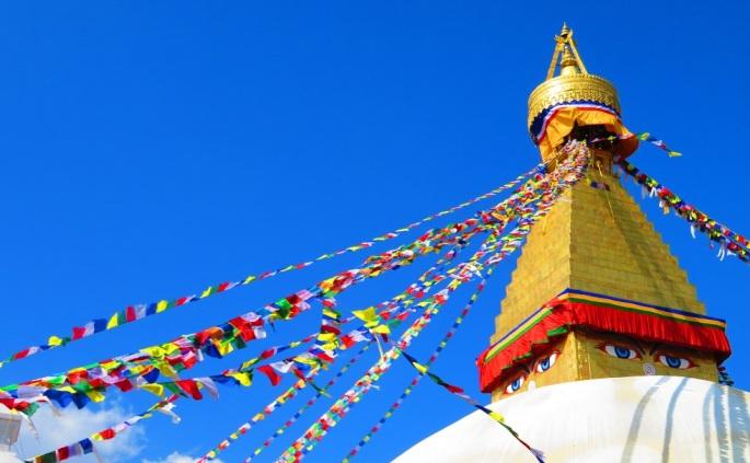 The Great Boudha Stupa, Kathmandu, Nepal