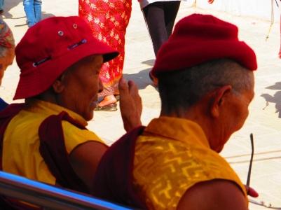 Buddhist leaders in Kathmandu