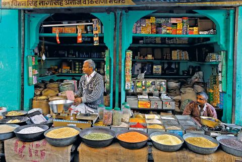 Jodhpur spice stall. Source: Intrepid