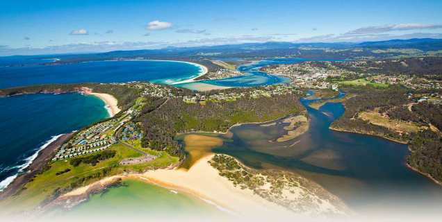 The gorgeous Merimbula. Photo: Merimbula Tourism