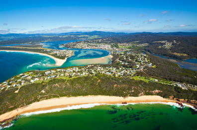 Middle Beach. Photo: Merimbula Tourism