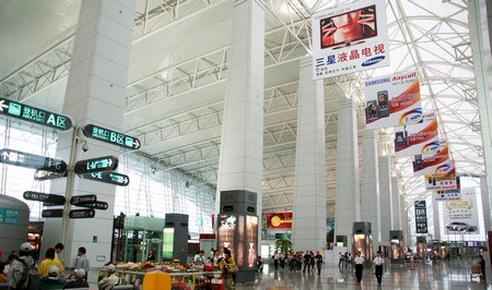 Guangzhou Airport - internal view