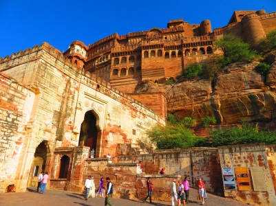 The eye-popping Mehrangarh Fort, Jodhpur, India