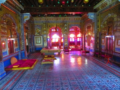 Internal view of the Mehrangarh Fort