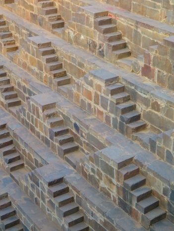 The Abhaneri step well, Rajasthan India
