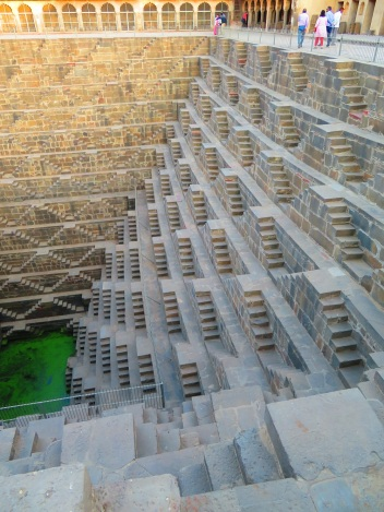 The Abhaneri step well, Rajasthan India
