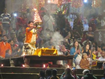 Night Puja, Varanasi