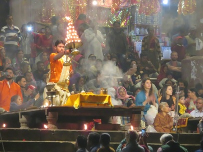 Night Puja, Varanasi