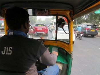 tuk tuk in Delhi