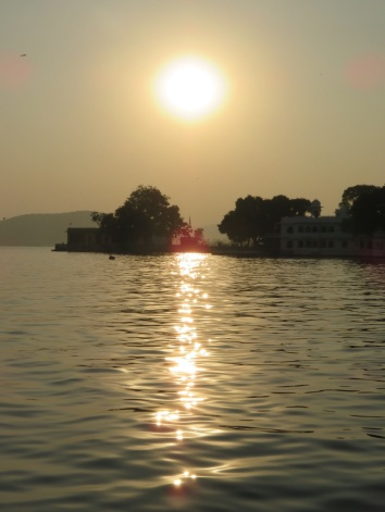 Sunset over Lake Pichola, Udaipur