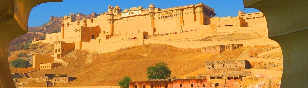 The breathtaking Amber Fort. Jaipur