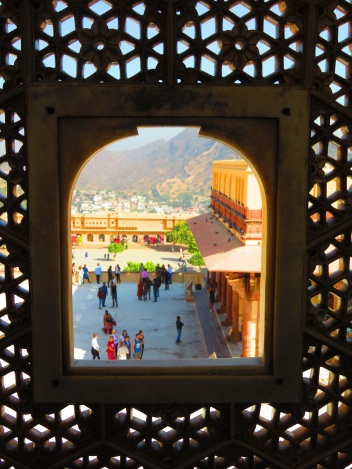 Amber Fort - window view