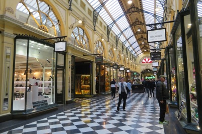 The graceful Royal Arcade, Melbourne