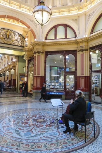 Music in the Block Arcade