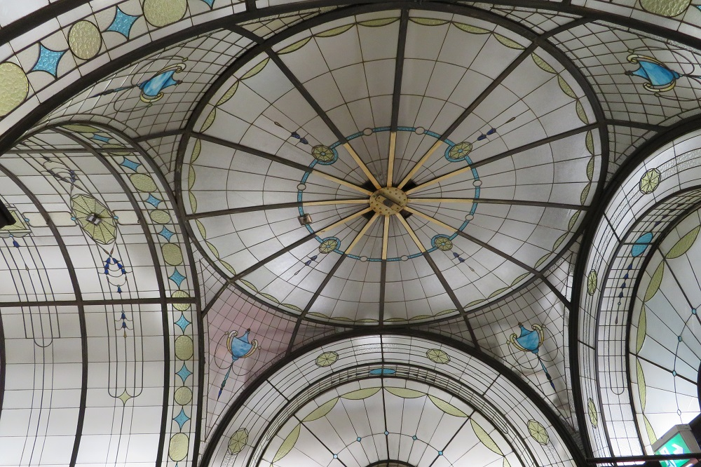 Cathedral Arcade, Melbourne - Ceiling