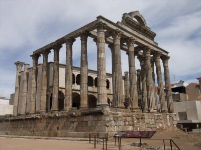 Roman temple in Merida
