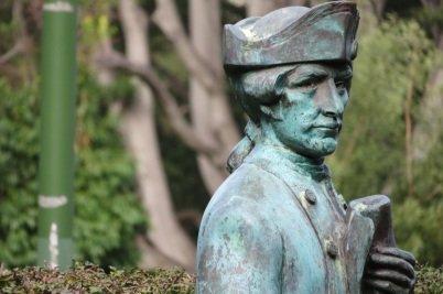 Captain Cook in Fitzroy Gardens