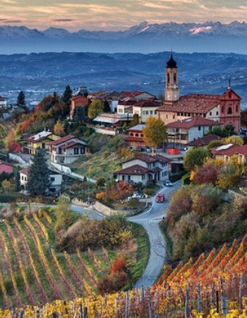 A gorgeous town in the Piedmonte region. Italy