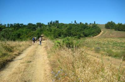 Stepping out across Tuscany. Italy