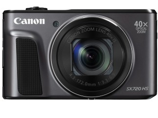 Canon 40x optical zoom SX720HS camera