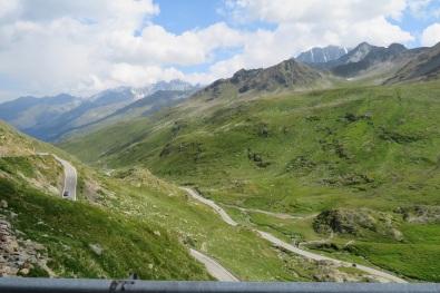 Tiny cars on twisting roads, Swiss