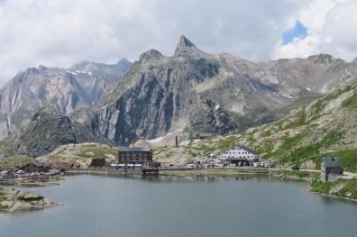 Italian side of the Great Saint Bernard Pass