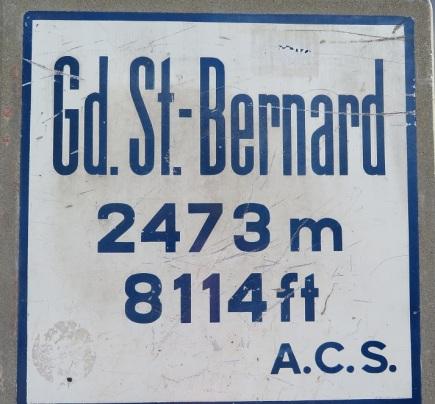 Great Saint Bernard Sign