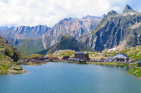The view to Italy - Great Saint Bernard Pass, Switzerland