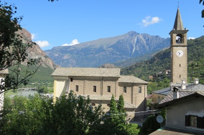 Mountain views in Valle d'Aosta