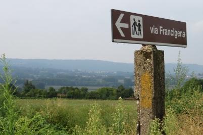 Via Francigena signage