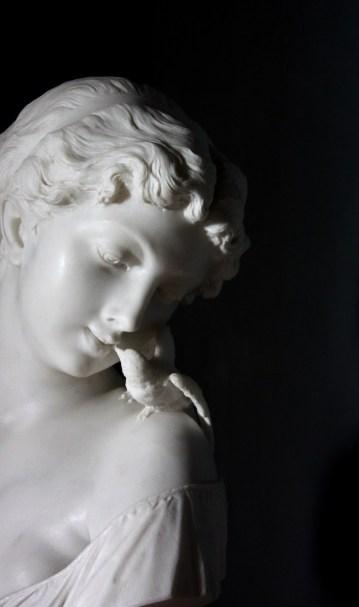 Marble Sculpture Museo Borgogna Vercelli Italy