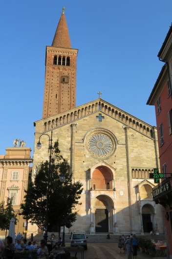 The Duomo in Piacenza.